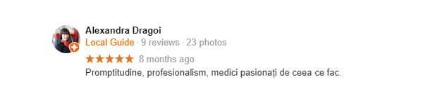 Google-Recomandare-delta-clinic-dent-pareri-dentist-bun-bucuresti-sector-1