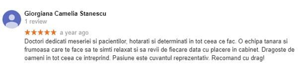 Recomandare-delta-clinic-dent-pareri-dentist-bun-bucuresti